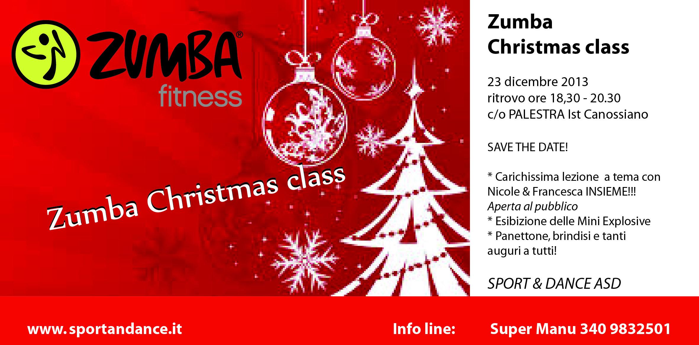 ZUMBA TREVISO * CHRISTMAS CLASS SPORT & DANCE - SPORT & DANCE ASD ...