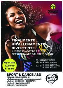 OPEN DAY SPORT & DANCE TREVISOZUMBA FITNESS