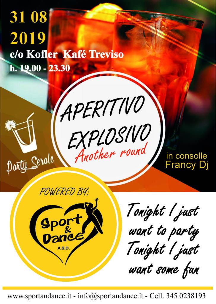 APERTIVO EXPLOSIVO SPORT & DANCE ZUMBA & REGGAETON