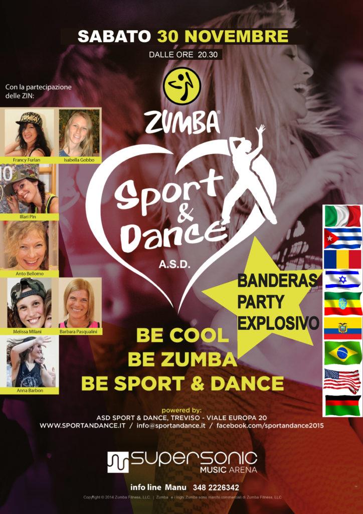 PARTY FITNESS ZUMBA E REGGAETON SPORT & DANCE TREVISO